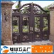 厂家直销常州铝艺别墅庭院大门定制户外院子电动对开门