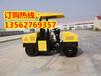 浩鸿新推出的3吨大型震动压实机唐山驾驶型震动压土机压实力可达6吨