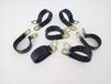江西家具廠用R型鍍鋅浸塑管夾Φ25包膠P型線夾價格
