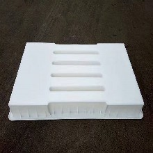 黑龍江齊齊哈爾路基蓋板模具-鵝卵石塑料蓋板模具-平面蓋板模具圖片