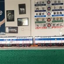 火车模型红星DF11G重联内燃机车