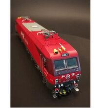 火车模型MTCHXD3D和谐电3D电力机车合金图片