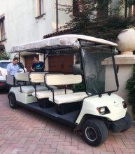江苏四座电动高尔夫厂家供应养老院电动高尔夫用品图片