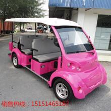 青岛地区4座不带门电动观光车机场巡逻车