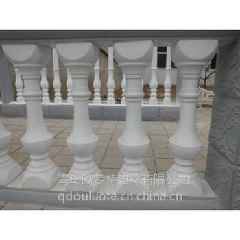 潍坊机制烟道GRC构件EPS线条景观雕塑、花盆、砂岩制品电话