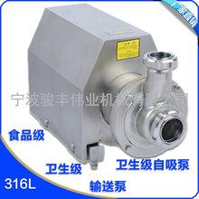 20吨CIP自吸泵CIP进程泵4KW图片