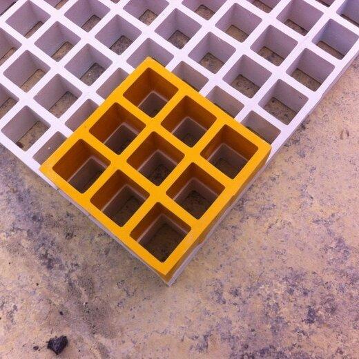 雙橋玻璃鋼格柵地溝蓋板廠家定制