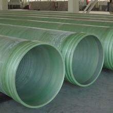 聯益玻璃鋼管道生產廠家,江北玻璃鋼管道參數報表圖片