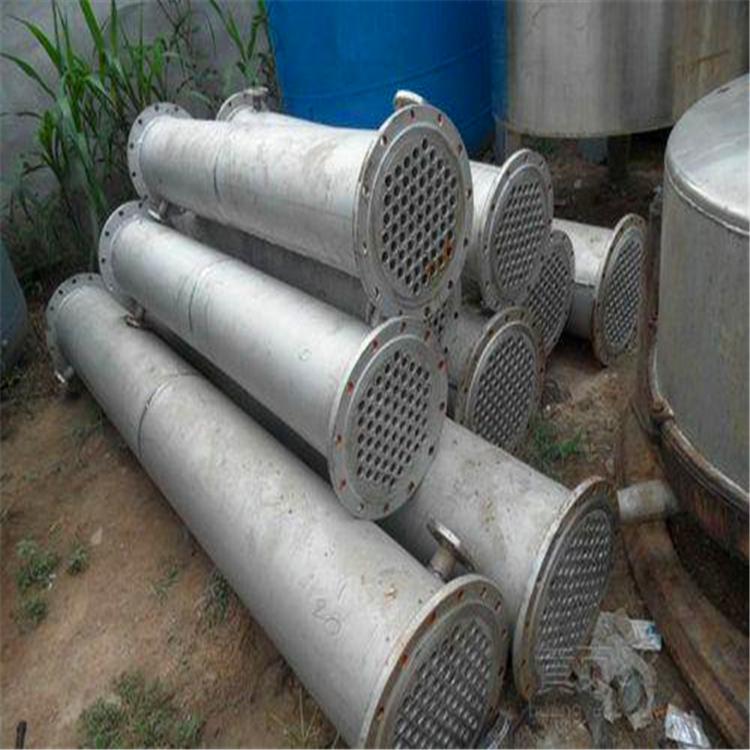 山东转让二手不锈钢列管式冷凝器二手冷凝器价格-不锈钢列管式冷凝