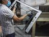全自动铝型材喷砂机铝边框自动喷砂机