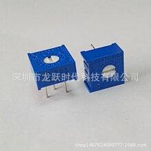 小型单圈精密电位器P503(50K)BOURNS可调电位计3386P-1-503LF微调电阻