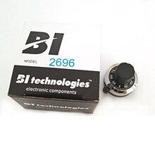 美国BI2696带数字刻度盘电位器专用帽子旋钮电阻专用柄数显旋钮