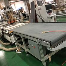 現場出售二手鑫宏天開料機帶上下料平臺/二手家具廠生產設備圖片