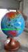 学院大型立体玻璃钢地球仪雕塑模型校园天文地理树脂装饰