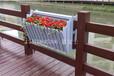惠州塑木花箱,不锈钢包边花箱,振兴花园新型花箱花箱现价