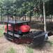 嘉兴遥控式柴油施肥机多功能履带式耕地机的参数