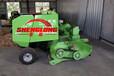 打草专业省人工自动粉碎打包机优质打包粉碎打捆机器