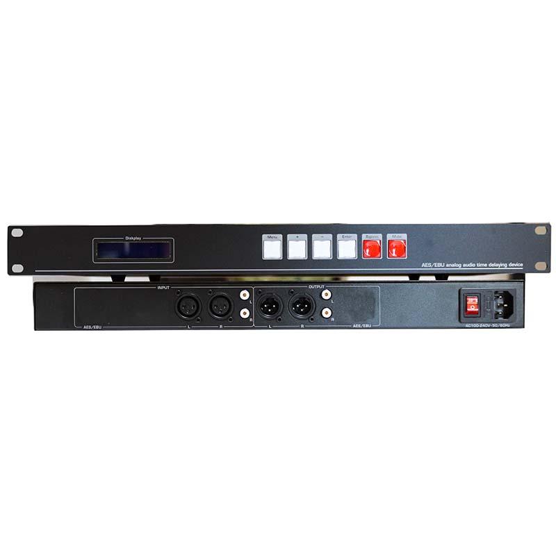 纵横天成80秒音频延时器支持断电直通音频延迟器