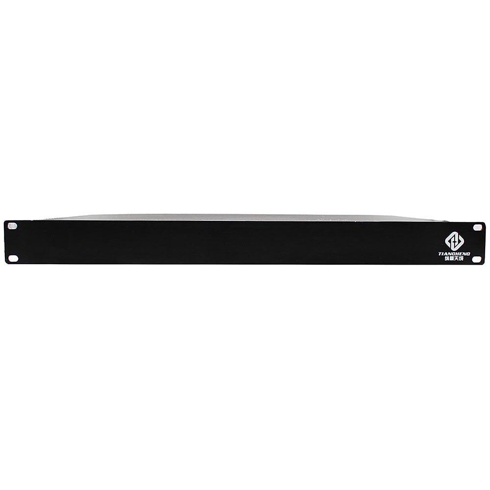 纵横天成4路音频隔离器全铝外壳镀金卡侬接口机架式结构