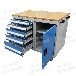 武漢工位器具廠家直銷工具柜車間移動工具車常規現貨非標訂做