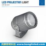 新款私模30W圆形窄光束投光灯_大功率LED聚光投射灯图片