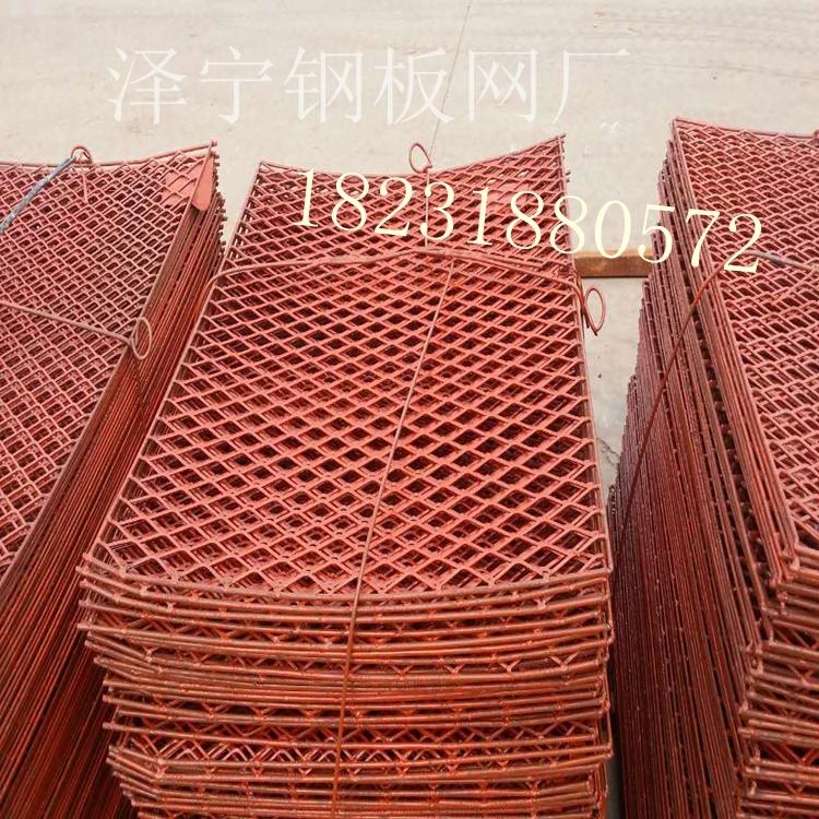 钢板网厂家直销钢笆片外架脚手片盾构隧道走道板菱形脚踏网片