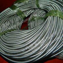 蛇皮管山东济南化工厂专用不锈钢蛇皮管穿线用耐腐蚀不锈钢波纹管配接头福莱通加工批发
