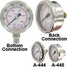 美国DwyerSGD-D0322N/D0642N工业级不锈钢压力表SGD-D1342N