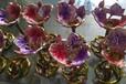 高档精品红酒杯珐琅彩金属高脚杯香槟杯底座加工