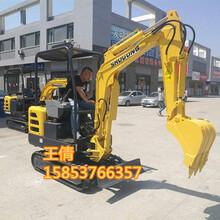 市面普通应用的小型挖掘机18型履带式挖掘机济宁