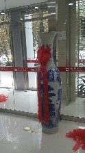 恭贺开张西安开业摆件龙纹鼎事业蒸蒸日上周年庆1.8米花瓶生意兴隆财旺