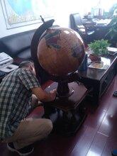 高档落地款实木地球仪摆件西安公司开业礼品办公室书房创意实用装饰品