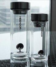 上海希诺品牌玻璃杯优级材质加厚杯身专柜正品西安大牌水杯批发