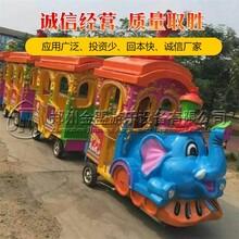 无轨高铁小火车_电动小火车_无轨小火车_优质产品投放市场图片