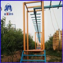大小型体能乐园体能拓展设备定制攀爬滑梯图片