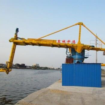 盐城科德KDL固定式粉煤灰、水泥、矿粉螺旋式卸船机输送机