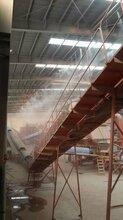 喷雾降尘设备在杨凌拆迁工地的应用图片