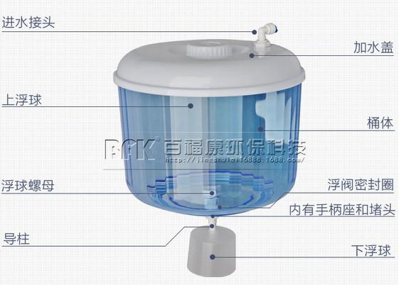 厂家直销加厚小连通饮水机链接器塑料水桶饮水机储