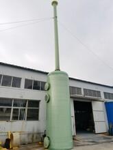 噴淋塔硫酸酸霧堿液噴淋塔圖片