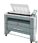 奥西PW300二手工程复印机大图激光蓝图打印机