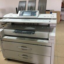 理光7140/5100二手大圖高速數碼工程復印機高清激光藍圖打印機圖片