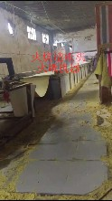 烧纸造纸机,日产5-8吨不用锅炉和烘缸的烘干道烧纸造纸机图片