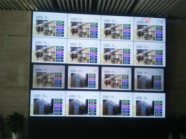 广州拼接屏深圳图书馆智慧墙广东拼接屏电视墙图片
