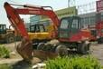 供应二手轮胎式挖掘机国产二手轮式恒特HTL100A-2挖掘机