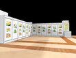 北京画展展墙板租赁销售图片