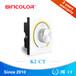 LED控制器旋钮色温控制器数码管显示缤彩BC-K2双色旋钮调光