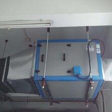 深圳市专业做酒店餐饮业厨房排烟风机安装油烟净化设备油烟罩