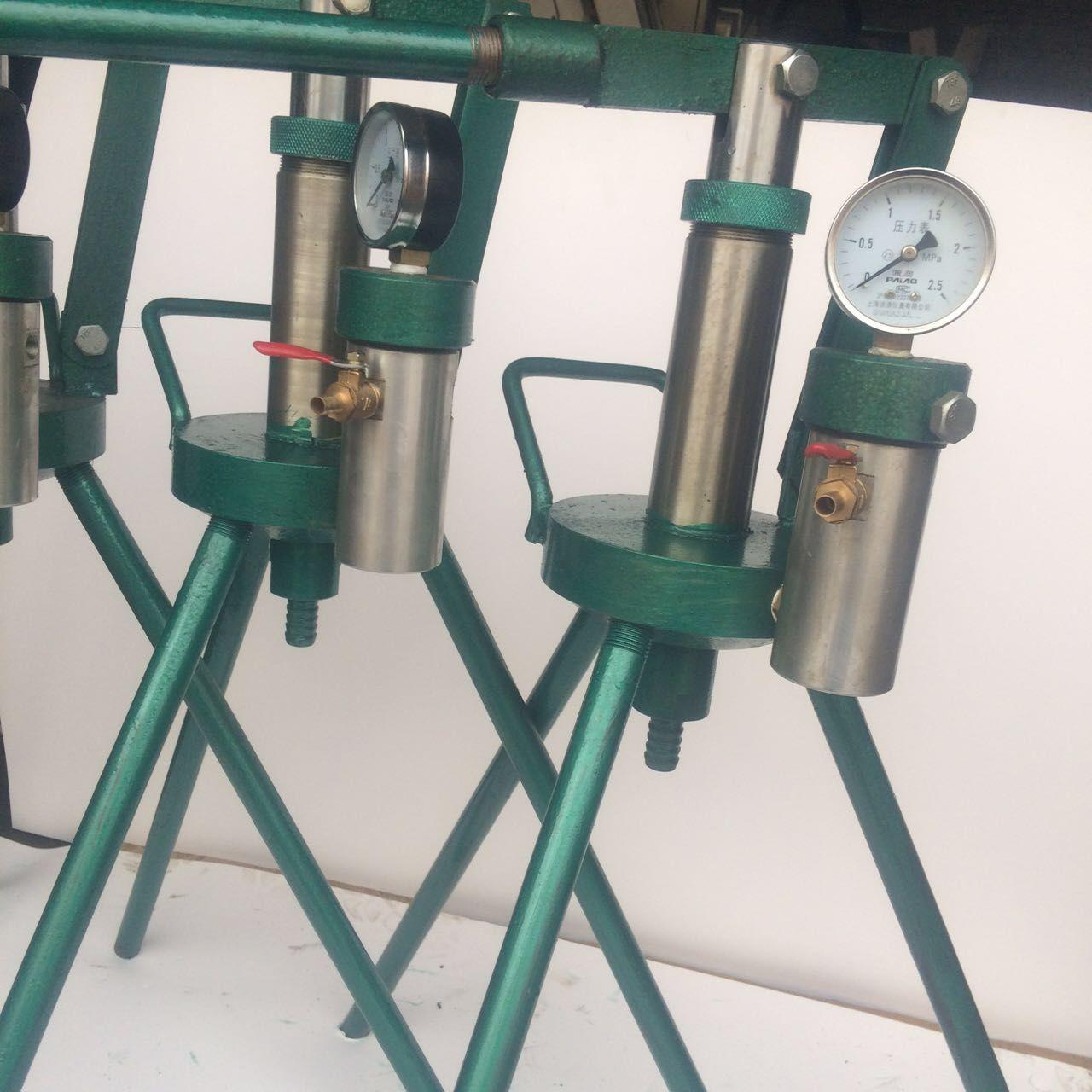 手动水泥注浆机高压砂浆注浆机加固填缝注浆机