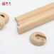 东莞木制加工定做新西兰松枫木圆木棒出口北欧