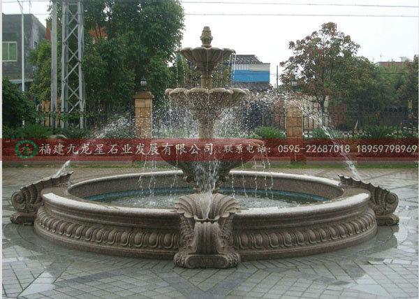 石材喷泉,欧式喷水池